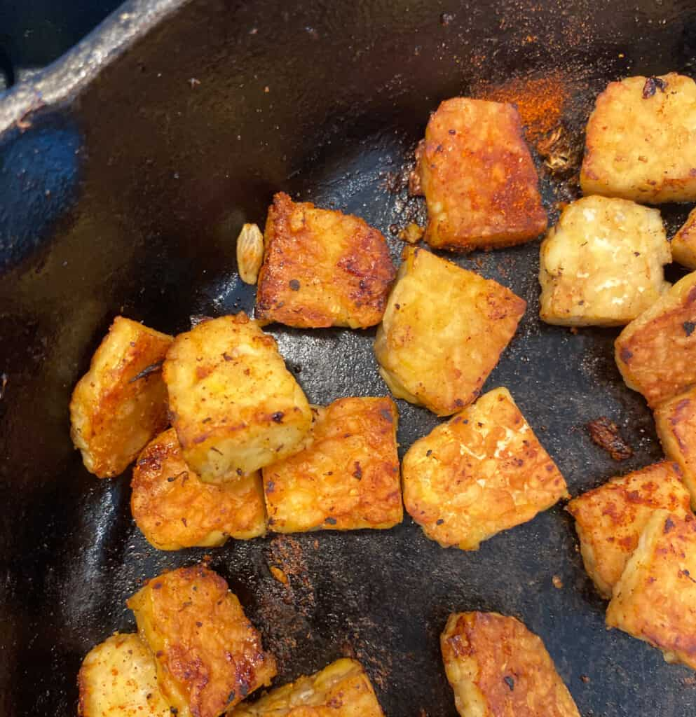 Tempeh Croutons