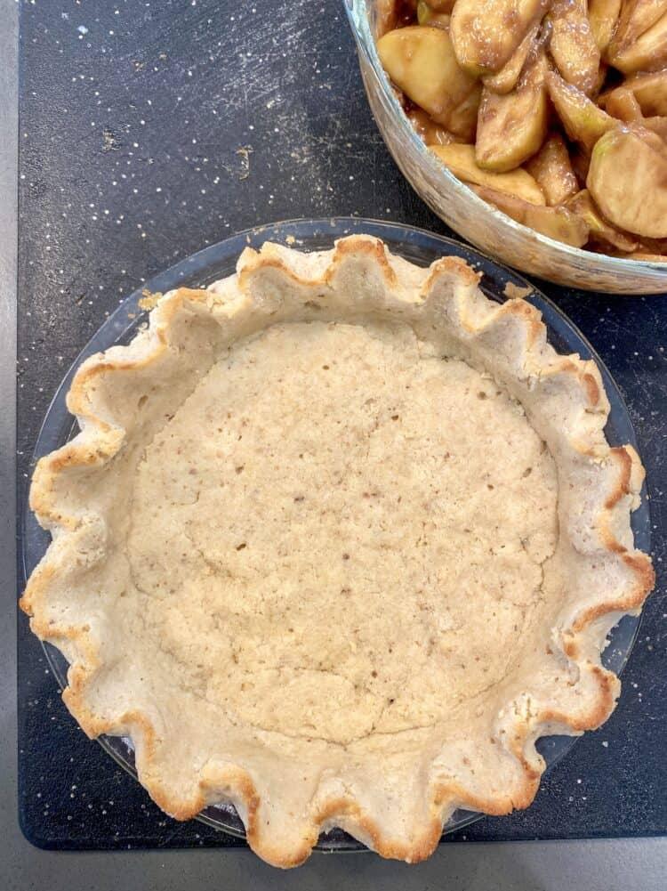 Pie crust without gluten
