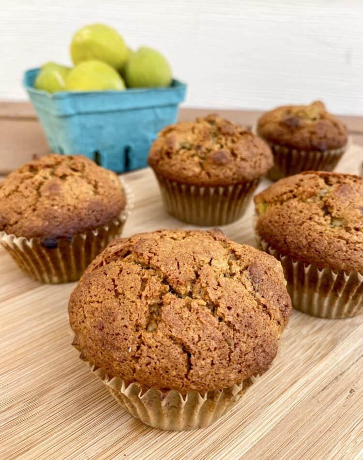 Gluten-free fig muffins