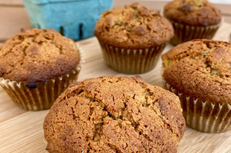 Gluten-free Fig Pecan Muffins