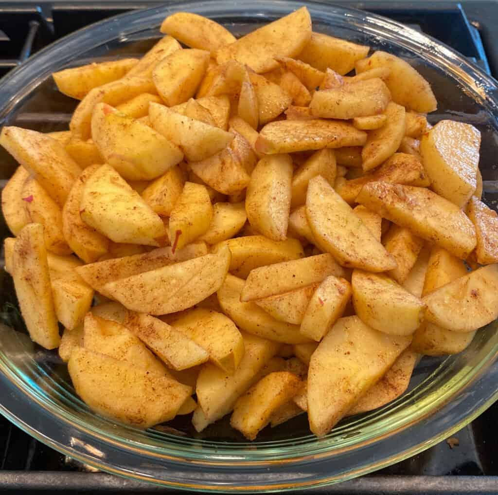 Fuji Apple Pie Filling or Crumble Filling