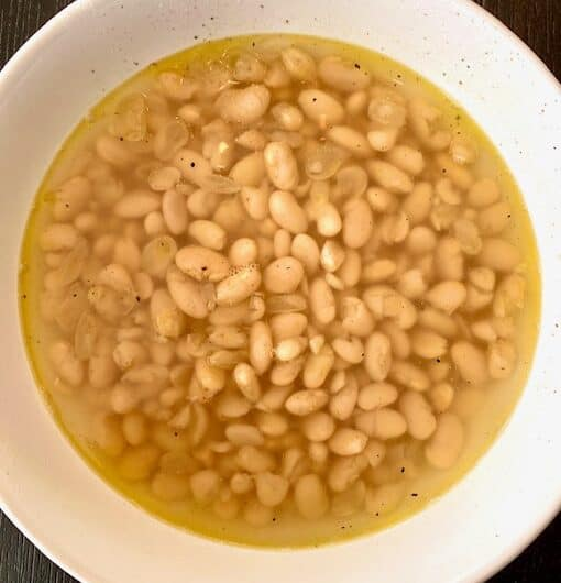 White Beans, Instant Pot or Stove Top