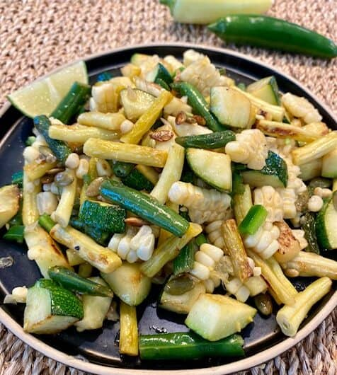 Summer Veggie Stir-fry (with a kick)