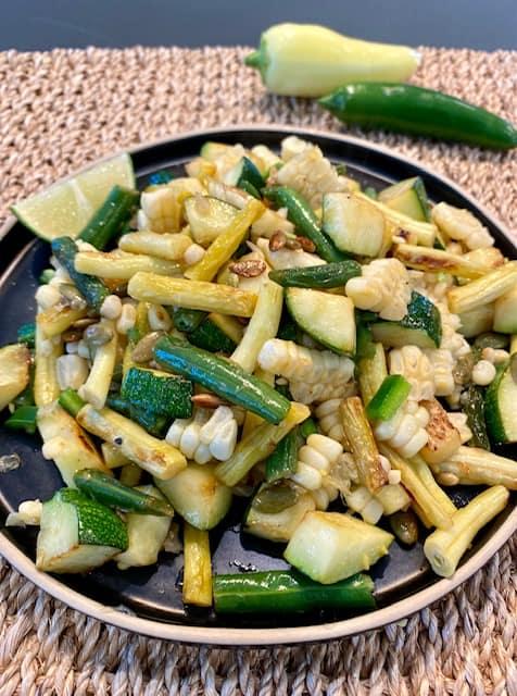 Easy Summer Veggie Stir-fry
